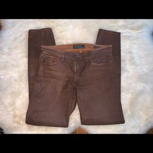 Guess Copper Waxed Jeans - Size 29